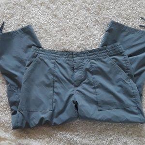 Patagonia Blue Nylon Capri Pants Size 8